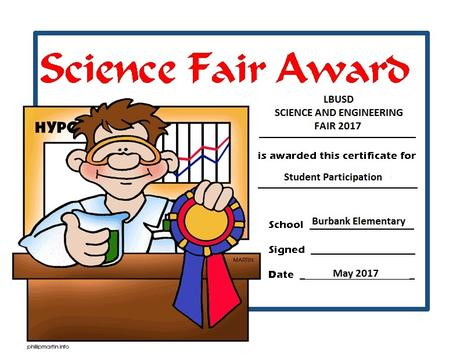 LBUSD Science and Engineering Fair 2017