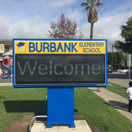 The New Burbank Marquee